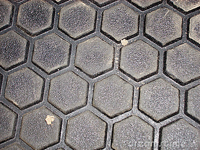 Hexagonal, surface