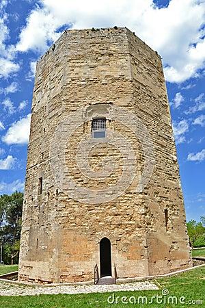 Hexagonal tower, Enna