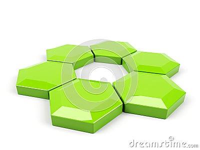 Hexagonal wheel