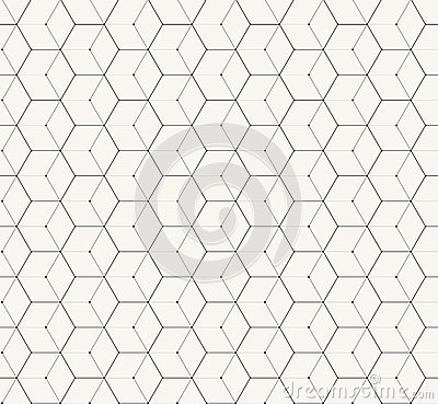 Free Hexagons Gray Vector Simple Seamless Pattern Royalty Free Stock Photo - 47205375
