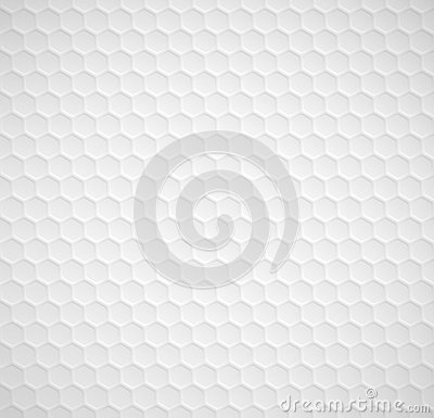 Hexagons seamless pattern