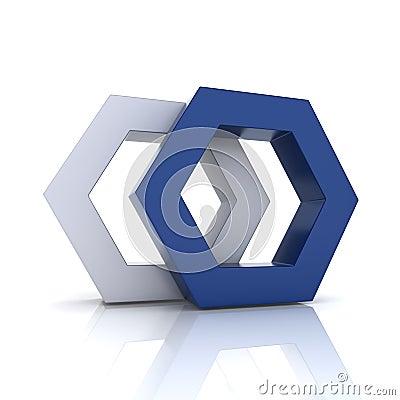 Hexagons union
