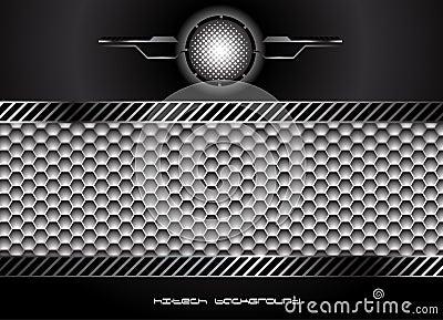 Hög abstrakt bakgrund - tech