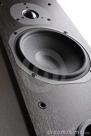Hi-Fi Acoustic System Close-up