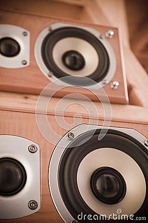 Free Hi-Fi Speakers Royalty Free Stock Photos - 2159578
