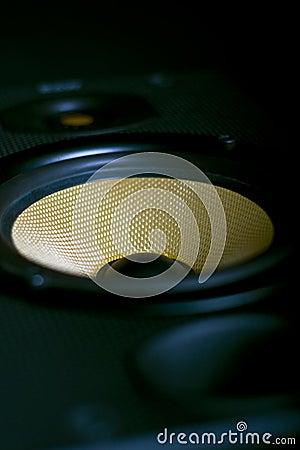 Free Hi-Fi Stereo Speaker On Side Stock Photos - 13818693
