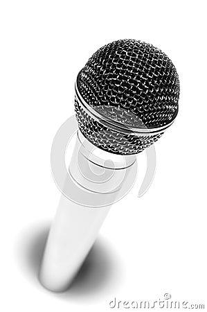 Hi metallic mic