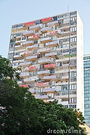 Hi-rise slum