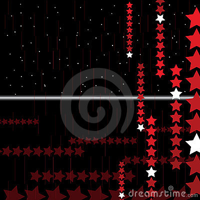 Hi-tech abstract background with stars. Vector.