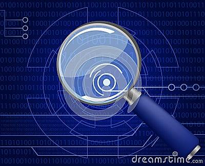 Hi-tech background