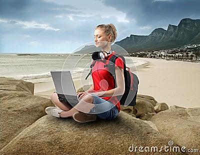 Hi-tech at the beach