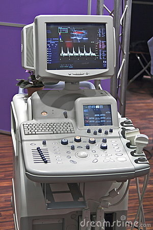 Hi-tech cardic monitor