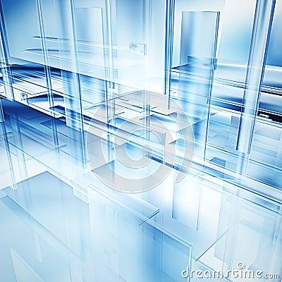 Free Hi-tech Glass Royalty Free Stock Photography - 10449197