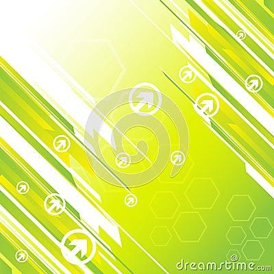 Hi-tech green background