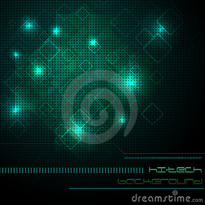 Hi-tech green background