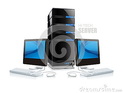 Hi-tech server