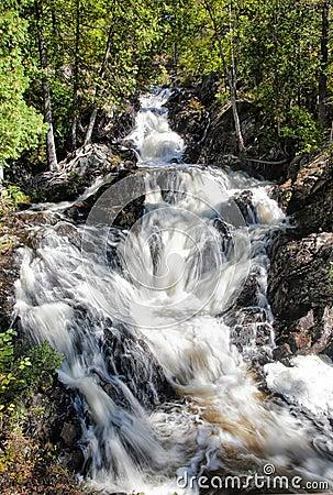 Hiawatha Park Waterfall
