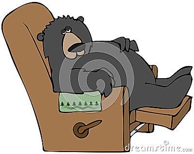 Hibernation Clipart Hibernating-bear-21862505.jpg