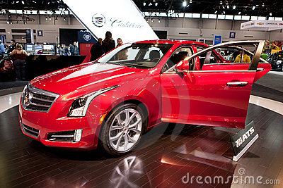 Hicago Auto Show. February 12, 2012 in Chicago, Il Editorial Stock Photo