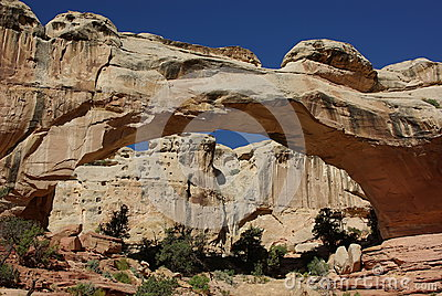 Hickman Bridge in Capitol Reef