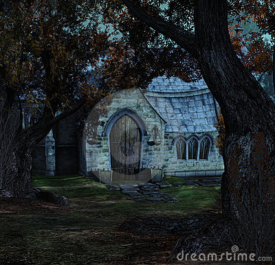 Hidden church night