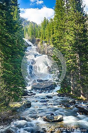 Free Hidden Falls Stock Image - 71197641