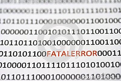 Hidden Fatal Errors in the code