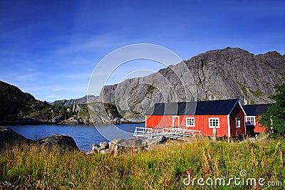 Hidden red houses
