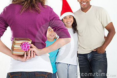 Hiding christmas gift