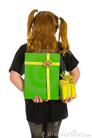 Hiding green luxury presents