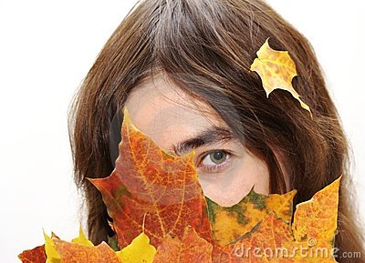 Hiding in the leafs