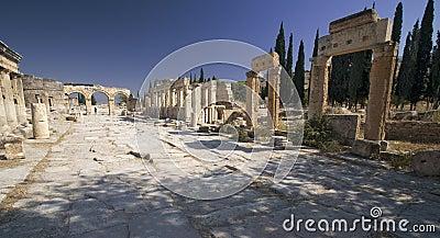Hierapolis: Main Street