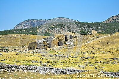 Hierapolis theater ruins