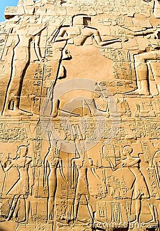 Hieroglyph background