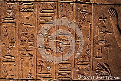 Hieroglyphics - Ancient Egypt
