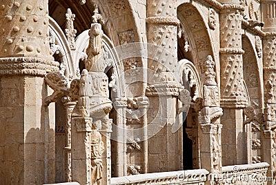 Hieronymites Monastery, Lisbon, Portugal.