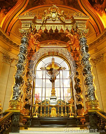 Free High Altar, Eglise Du Dome, Paris Stock Images - 130281304