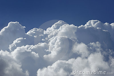 High Altitude Cumulus Clouds Royalty Free Stock Photo - Image: 2319515