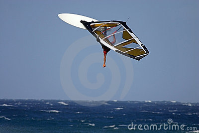 High backloop windsurfing