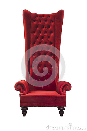 High backrest armchair