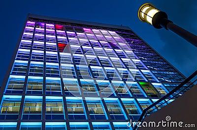 High Block Building at Hong Kong City Hall