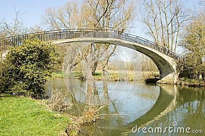 High Bridge over River Cherwell, Oxford