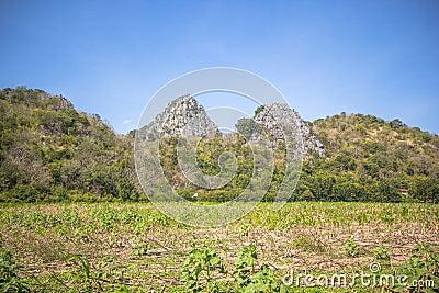 High calcite mountain