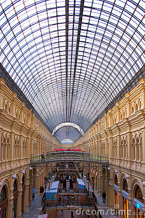 Free High Ceiling,bridges And Inter Royalty Free Stock Images - 3328669