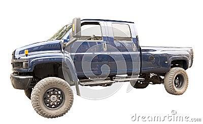 High clearance vehicle