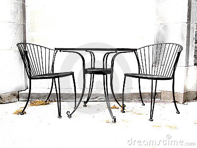 High contrast chairs
