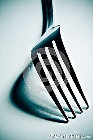 High contrast fork
