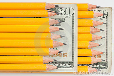 High cost of school supplies