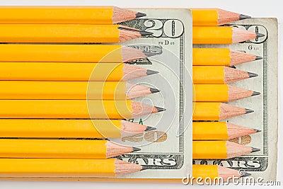 High cost of school supplies