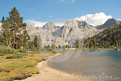 High country Rae Lake in California wilderness II